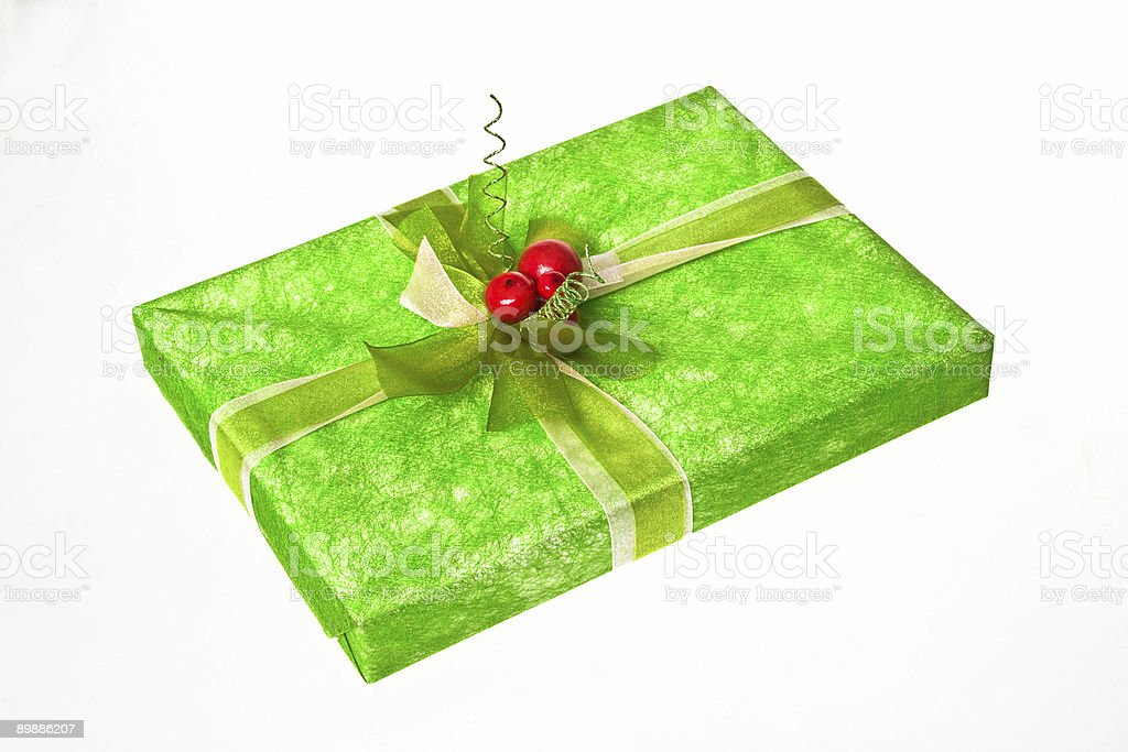 Buono regalo foto stock royalty-free