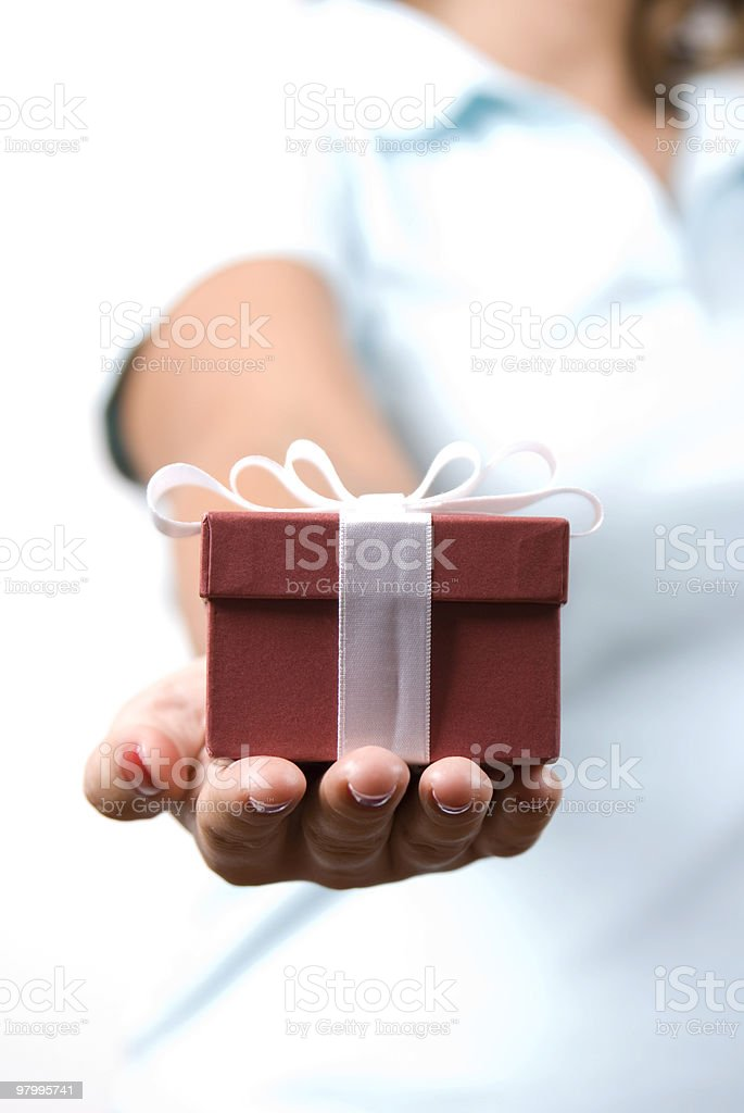 gift royalty free stockfoto