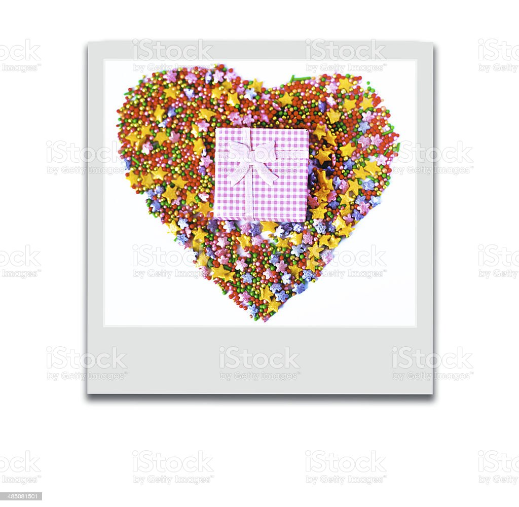 gift, present, bright background royalty-free stock photo