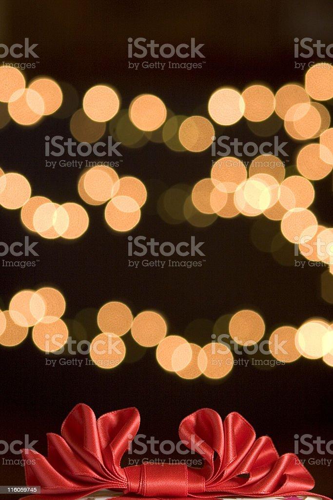 Gift ribbon royalty-free stock photo