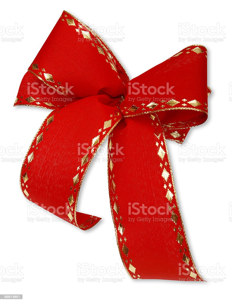 Gift ribbon royalty-free stock photo