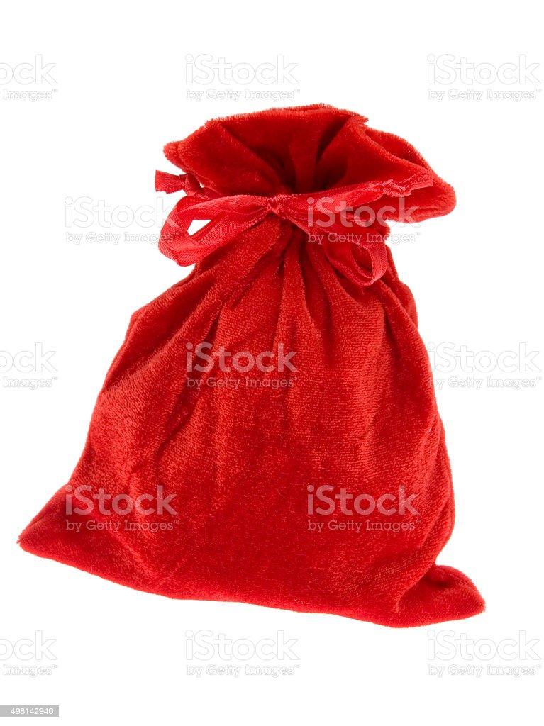 gift sack stock photo