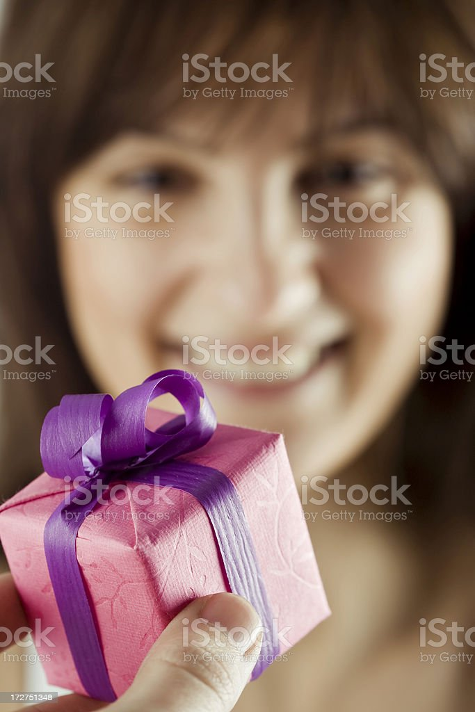 Gift series royalty-free stock photo