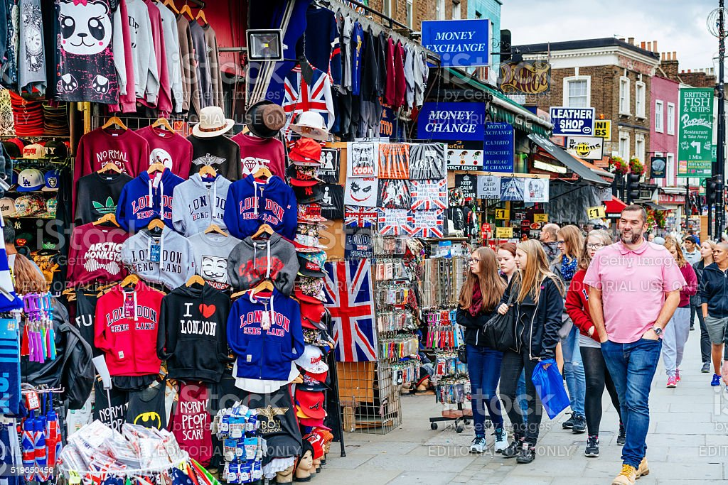 Gift Shop in Camden Town, London stock photo