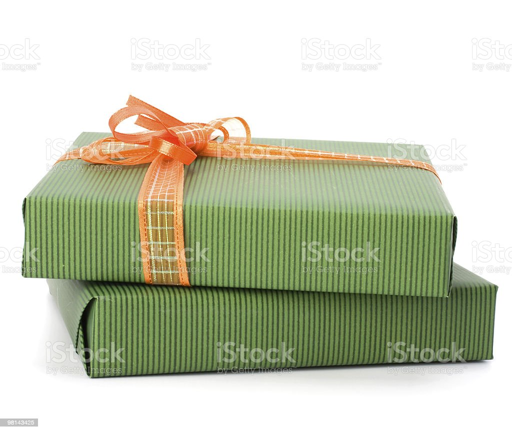 Gift stack royalty-free stock photo