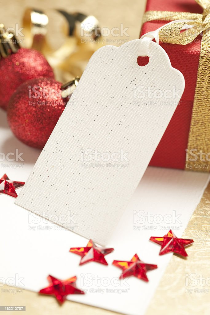 Gift Tag royalty-free stock photo