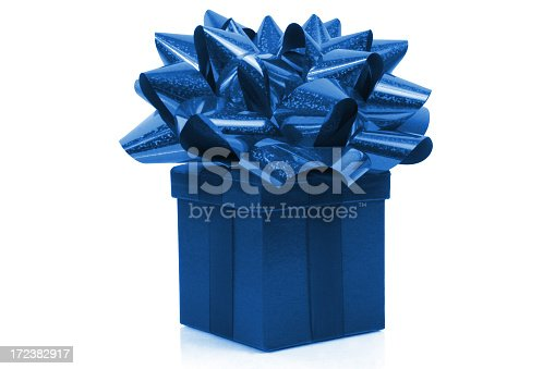 istock Gift with big bow 172382917