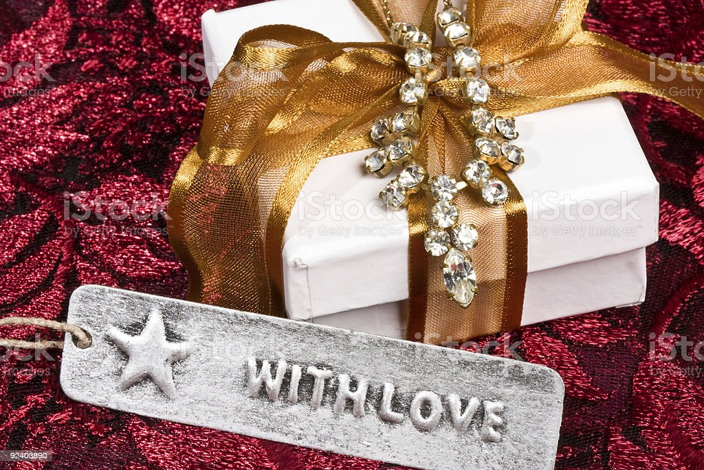 Gift With Love royalty-free stock photo