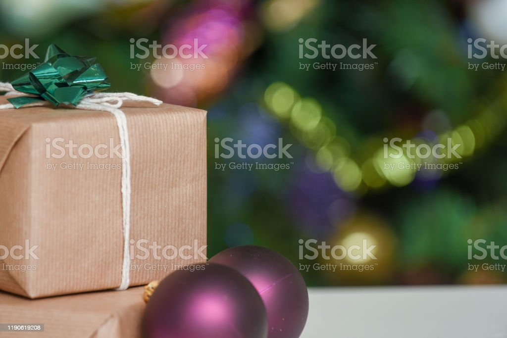 Gift Wrapped Christmas Presents Under The Decorated Christmas Tree In Cosy Family Home Interior Stock Photo Download Image Now Istock