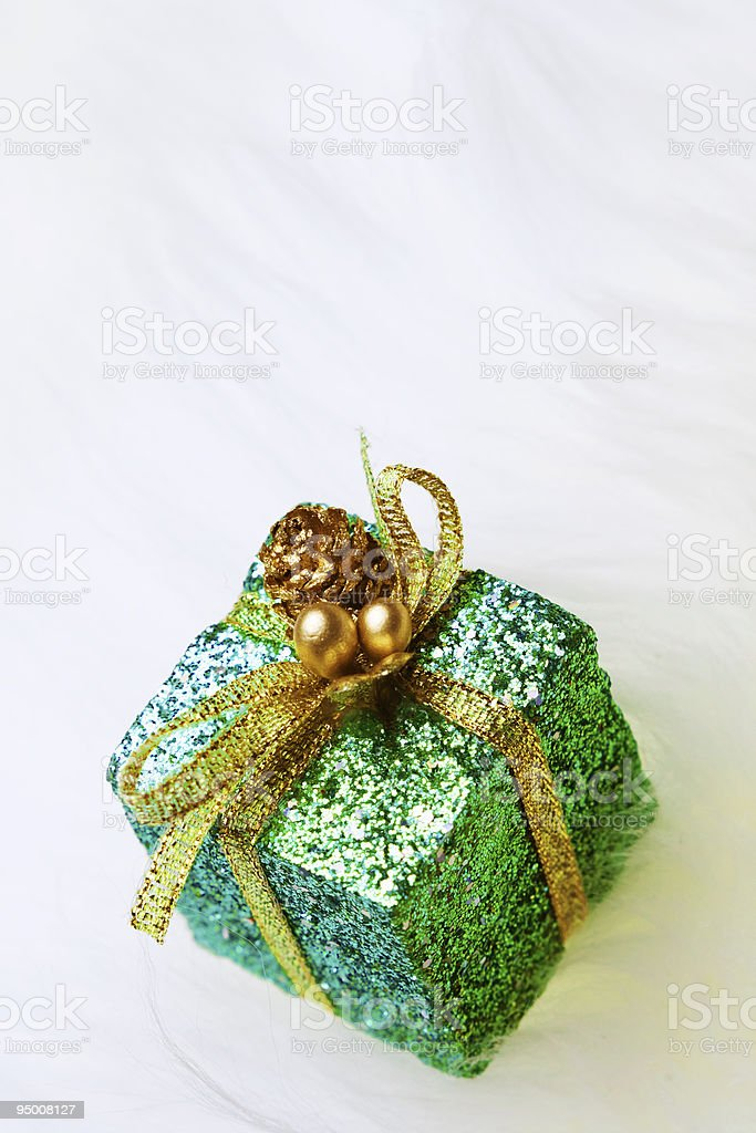 Giftbox Decor royalty-free stock photo