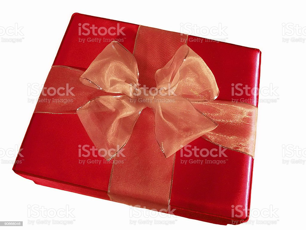 Giftbox Red royalty-free stock photo