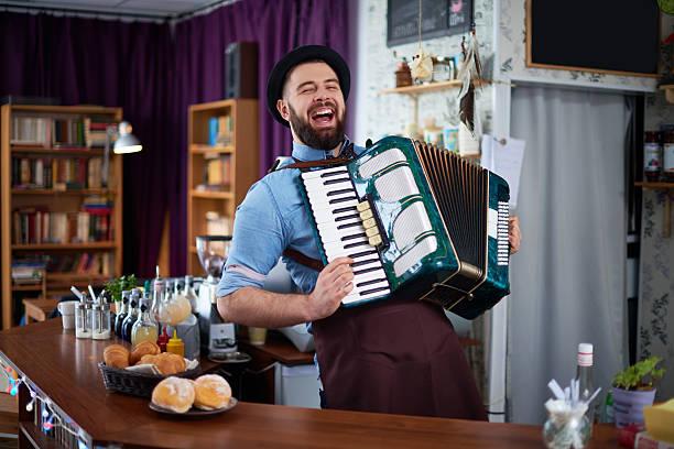 Talentierten Barkeeper – Foto