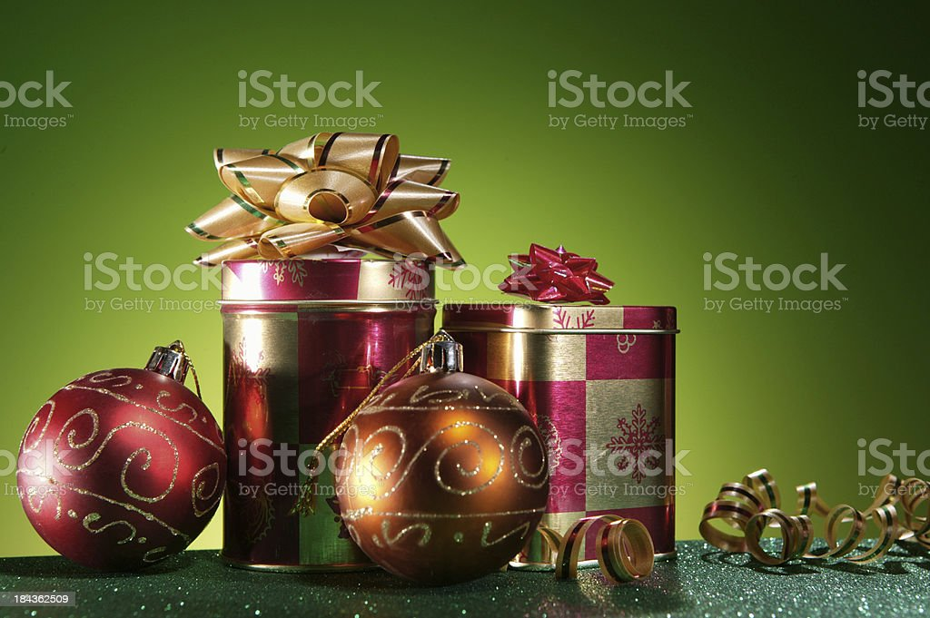 gifts and ornaments royalty-free stock photo