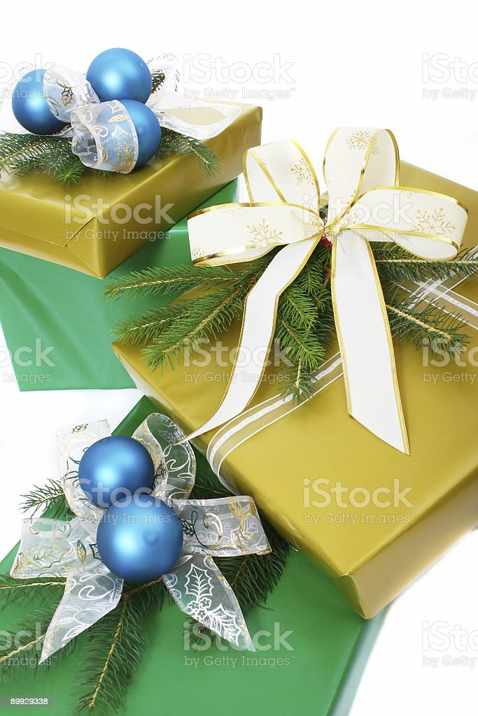 gifts boxes royalty-free stock photo