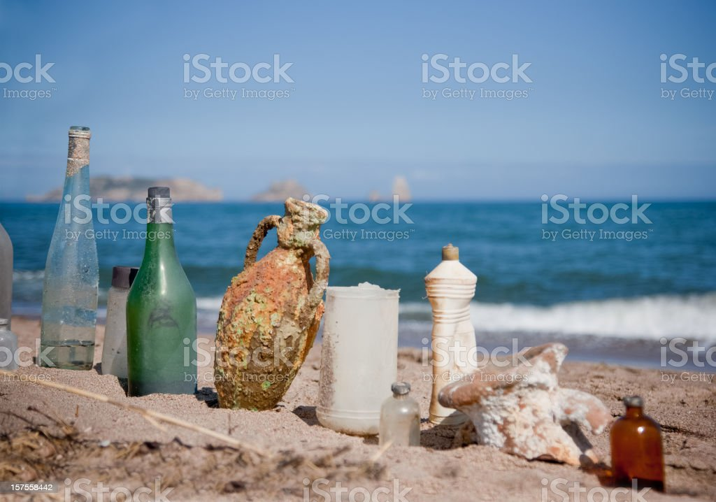 Gifts of the sea royalty-free stock photo