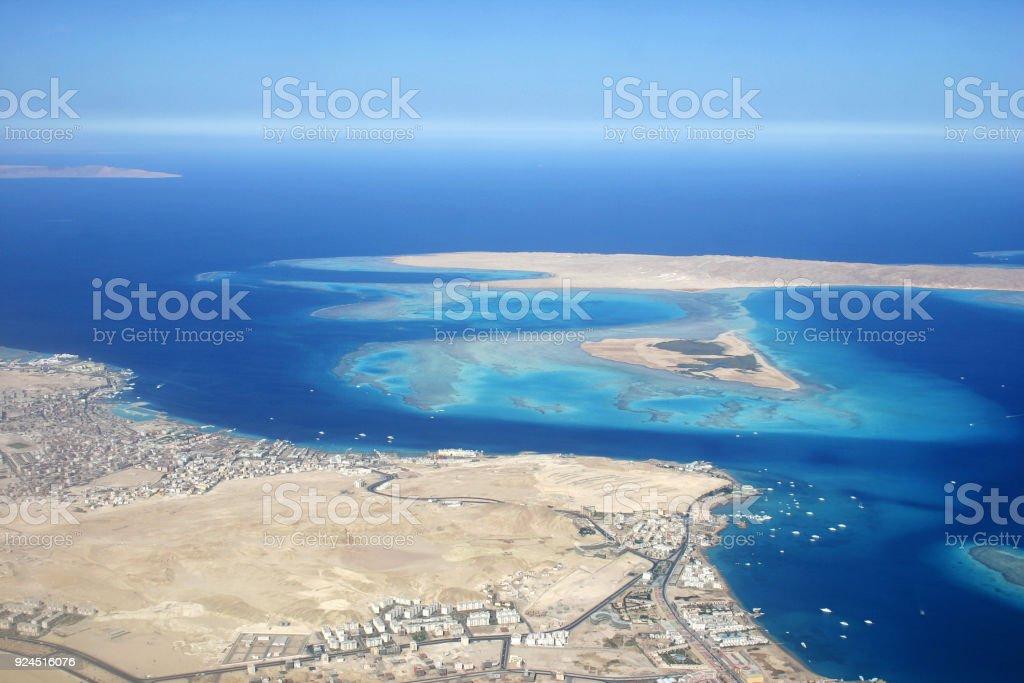 Giftun Island stock photo