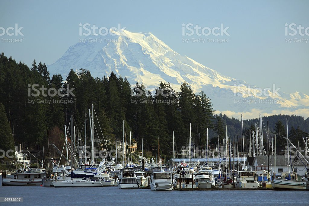 Gig Harbor, WA stock photo