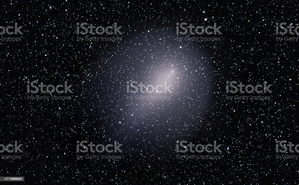 Gigantic comet Holmes royalty-free stock photo