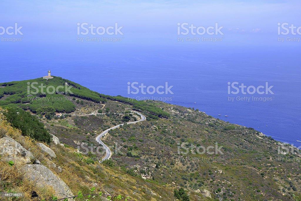 'Giglio' island stock photo