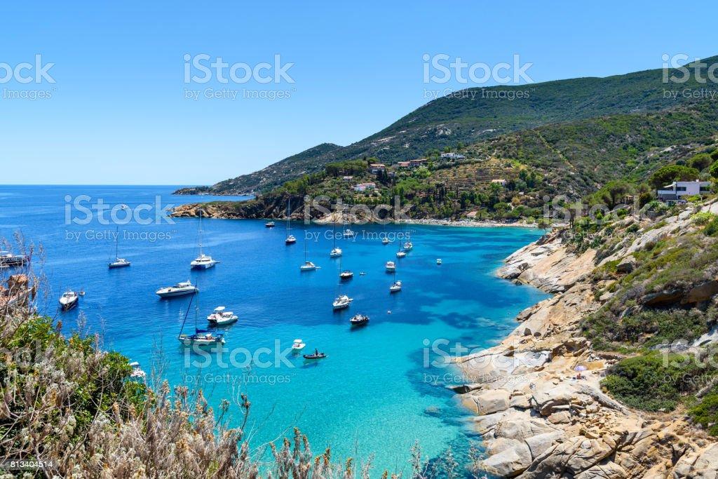 Giglio island, province of Grosseto, tuscany, italy stock photo