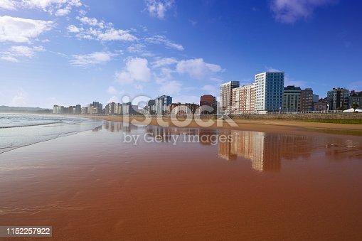 istock Gijon playa San Lorenzo beach Asturias Spain 1152257922