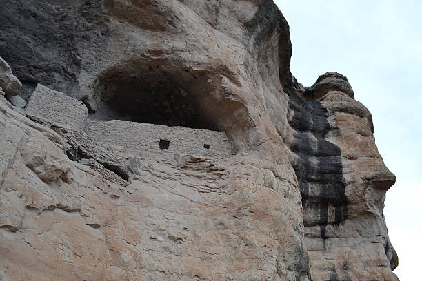 Gila Cliff Dwellings 7 stock photo