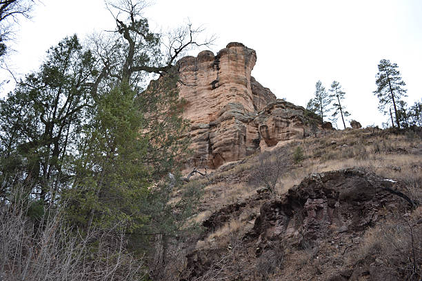 Gila Cliff stock photo