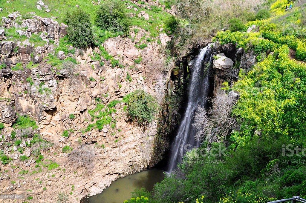 Gilabon waterfall stock photo
