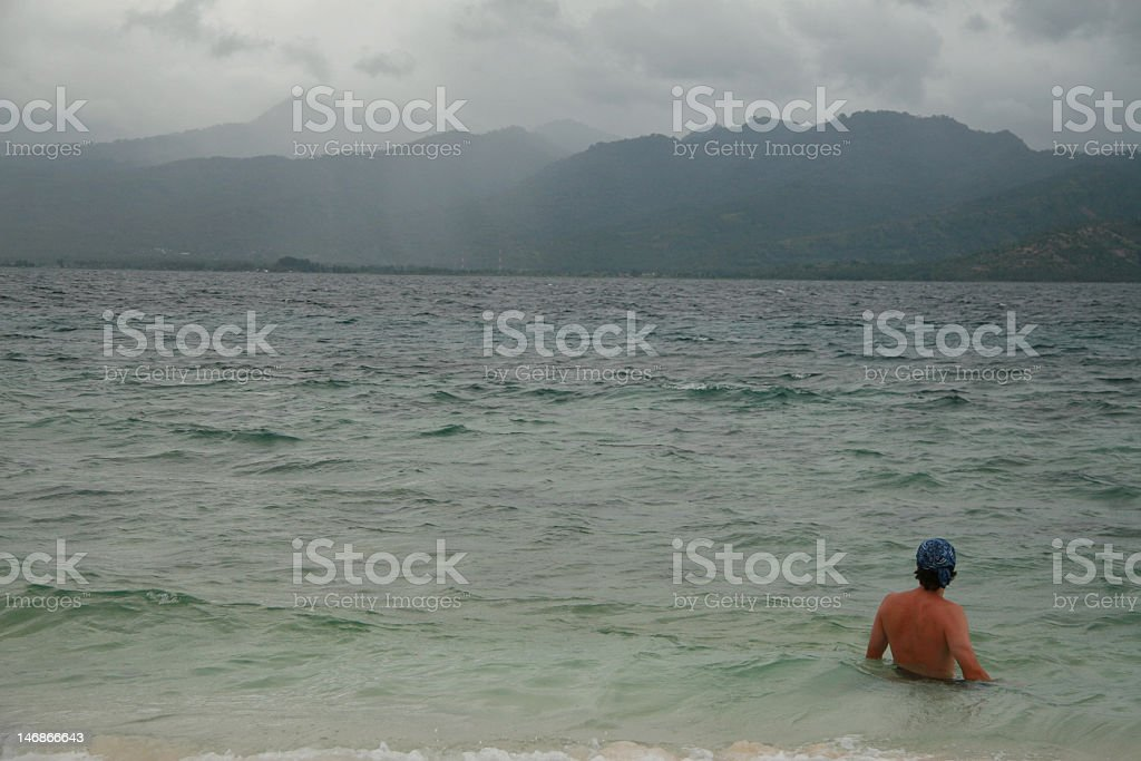 Gili Air royalty-free stock photo
