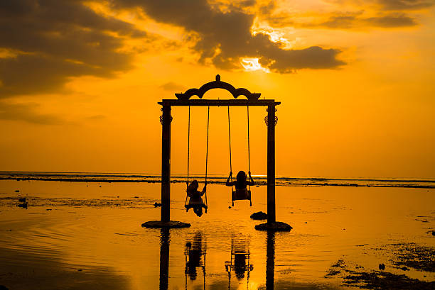 gili gate - lombok stockfoto's en -beelden