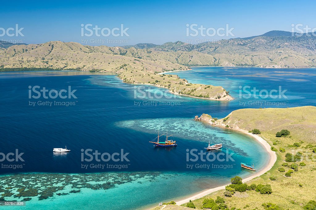 Gili Lawa Darat in Komodo Nationalpark – Foto