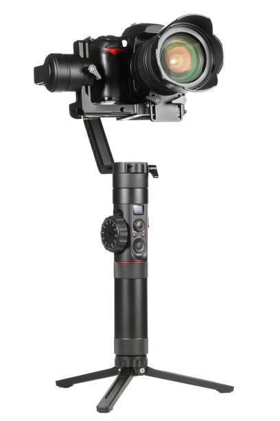 Gimbal-Stabilisator mit Kamera – Foto