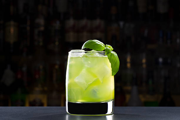 Gin Basil Smash – Foto