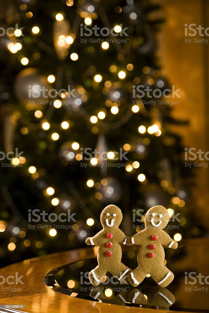 Ginger Bread Cookies royalty-free stock photo