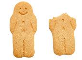 istock ginger bread men metaphors: bad luck, lucky escape 89947423