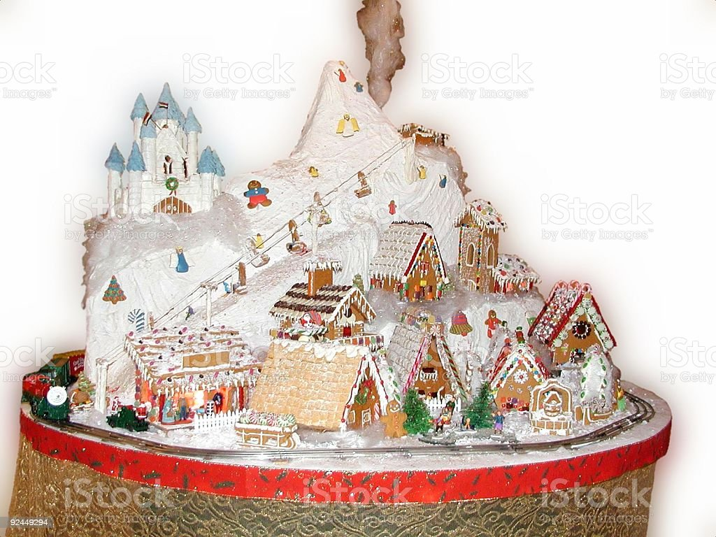 Ginger Bread Vilage royalty-free stock photo