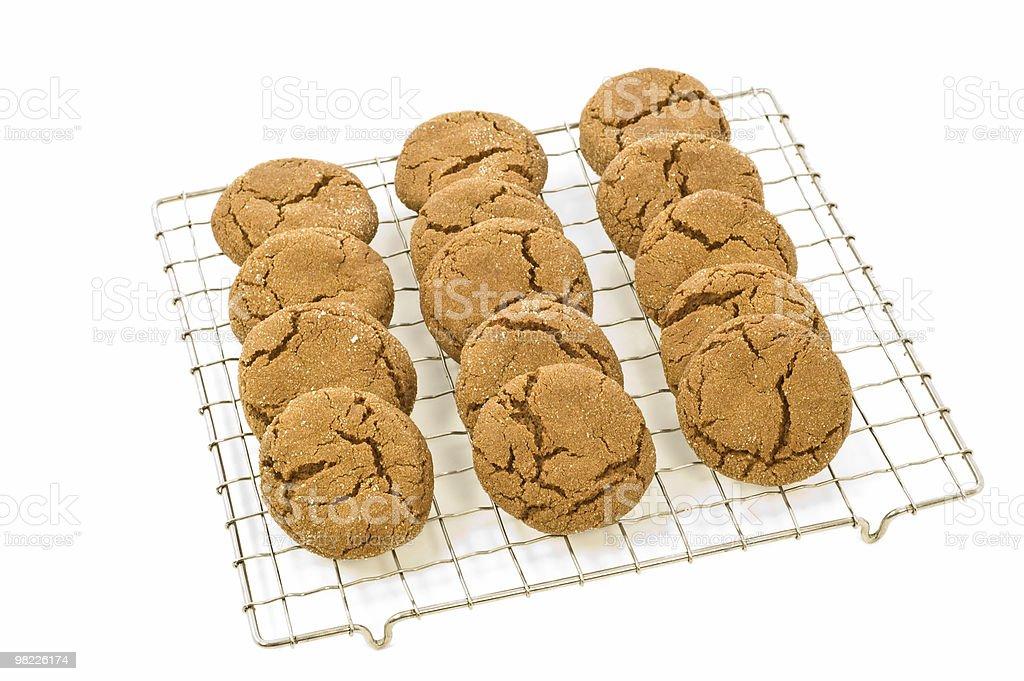 Allo zenzero cookie foto stock royalty-free