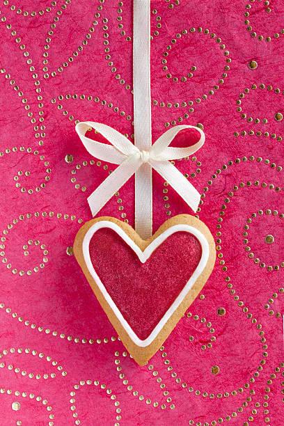 Ginger Herzen für Valentinstag und Hochzeit. – Foto