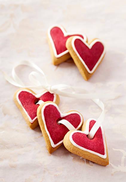 Ginger Herzen für Valentinstag. – Foto