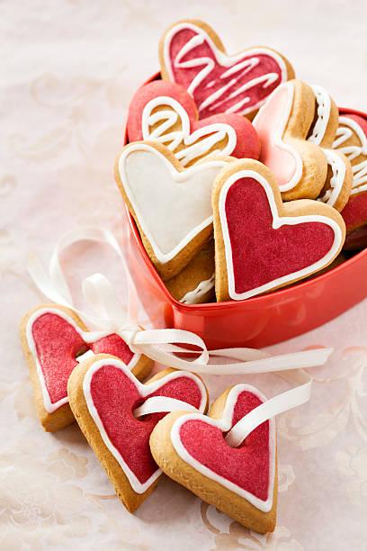 Ingwer in Rote Herzen für Valentinstag. – Foto