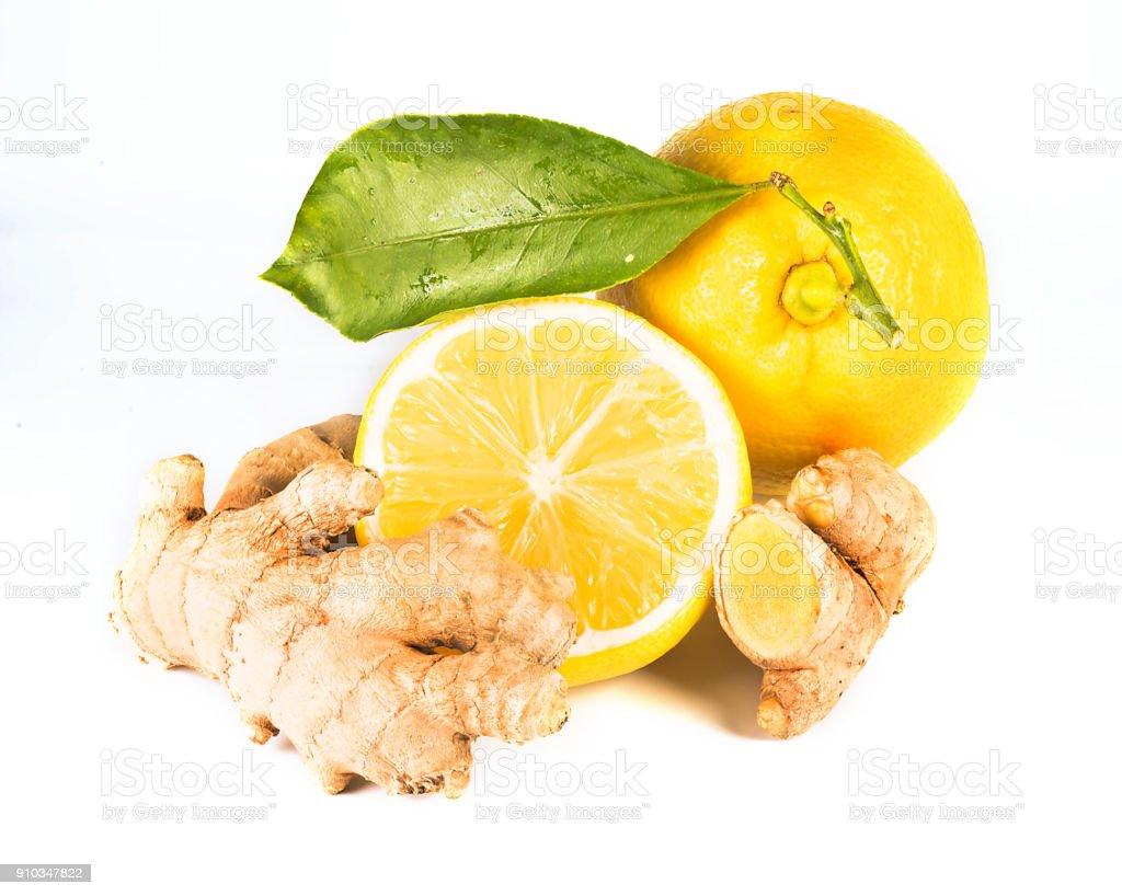 Ginger Lemon stock photo
