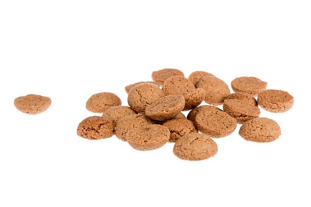 ginger nuts,  dutch candy for sinterklaas event in december - kruidnoten stockfoto's en -beelden