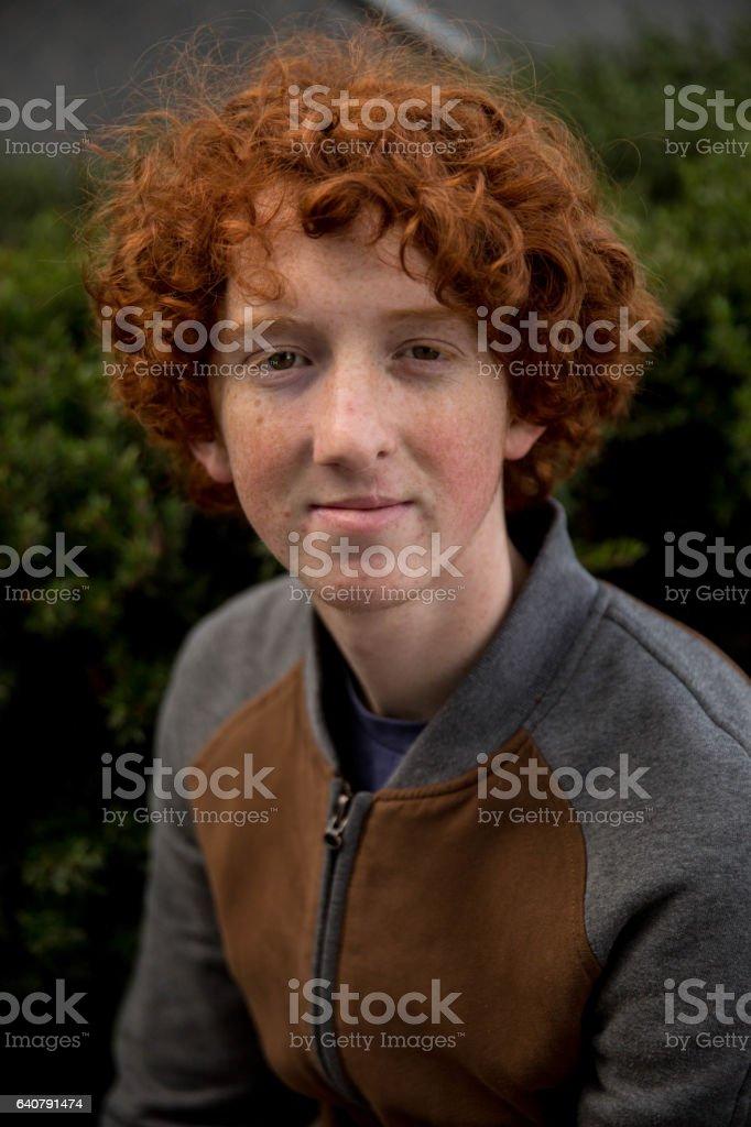 Redhead male bush