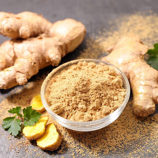 ginger root stock photo