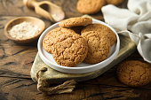 Traditional homemade ginger snaps
