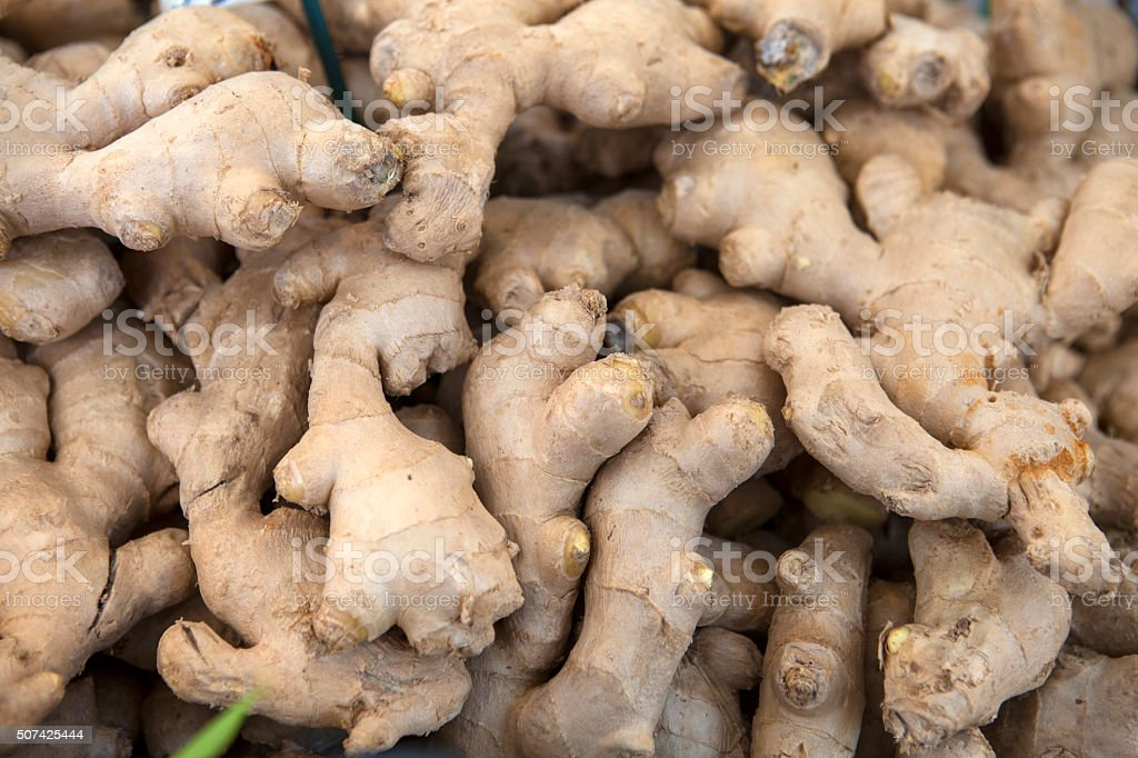 Ginger, stack stock photo