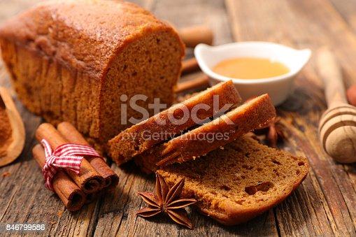istock gingerbread cake 846799586