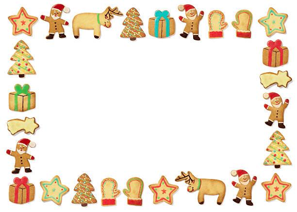 Weihnachten Lebkuchen cookies – Foto