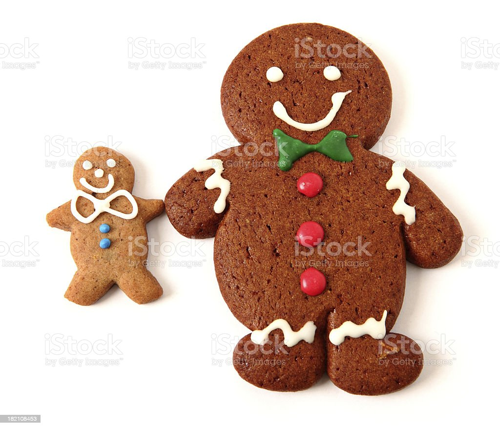 Gingerbread cookie royalty-free stock photo