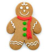 Gingerbread cookie.